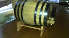 Oak Barrel Cleaning Kit Spirits Liquor Beer Liters Charred Oak