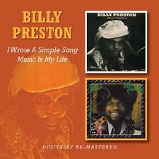 I Wrote A Simple Song/Music Is My Life - Billy Preston (2011, CD NEUF)2 DISC SET