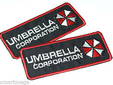 Resident Evil Umbrella Corporation Patch - Jeu de 2 brodé Patchs Thermocollant