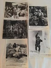 JUNGLE JIM - Johnny WEISSMULLER - LOT 5 PHOTOS CINEMA PRESSE