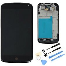 LCD Display Digitizer Touch Screen + Frame Assembly For LG Google Nexus 4 E960