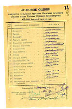 Soviet Russian RED ARMY WWII 2  Documents Yukhnevich officer   military