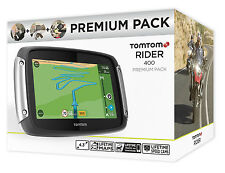 Tomtom Rider 400 premium pack gps moto gps vie uk Europe 45 cartes