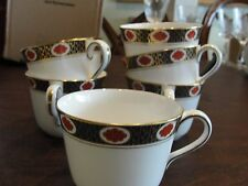 ROYAL CROWN DERBY AMBASSADOR  6 CUPS ONLY 2 5/8""
