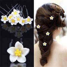 20pc Diamante Pearl Flower Bridal Wedding Prom Hair Pin Clip jewellery Gift Hot