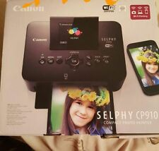 Brand New Canon Selphy CP910 Wireless Compact Photo Printer, WiFi, Black