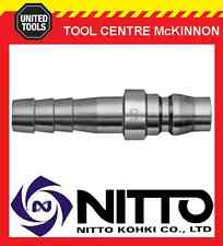 """GENUINE NITTO MALE COUPLING AIR FITTING WITH 3/8"""" HOSE BARB (30PH) – JAPAN"""