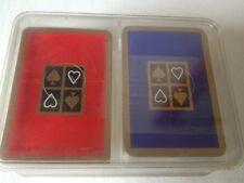 Jeux de mini cartes ASS x2 dans étui plastique transparent sous blister