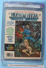 MARVEL SUPER SPECIAL #10 5th app STAR-LORD 1979 Guardians of the Galaxy CGC 9.8