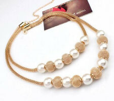 Necklaces Ball Women Multi layers Pendants Fashion Hot Chain Imitation Pearl