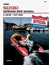 CLYMER SUZUKI DT50 OUTBOARD MAINTENANCE SHOP REPAIR SERVICE MANUAL 1977-1984