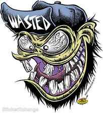 Wasted Fiend Sticker Decal Dirty Donny DD48