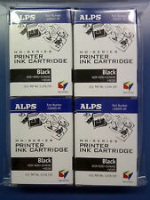 Alps MD Printer Ink Cartridge - Black 4-Pack 106057-00