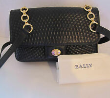 BALLY HANDBAG QUILTED LEATHER