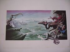 LORD OF THE RINGS II RODNEY MATTHEWS AUTHENTIC 1998 POSTER