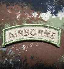 AIRBORNE TAB TACTICAL US ARMY MORALE ROCKER MILITARY BADGE MULTICAM VELCRO PATCH