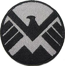 Marvel Agents of Shield Logo Embroidered Patch Sew/Iron-on 9cm badge