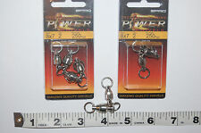 2 packs spro cross ball bearing power swivels 8x7 250kgs (550lb) 4586-008