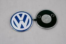 VW New Beetle Front Blue White Emblem Replacement OEM NEW 1C0 853 617