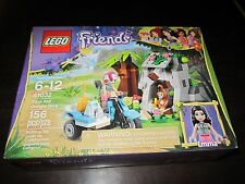 Girl LEGO Friends NEW 41032 First Aid Jungle Bike Emma Monkey Medical play toy
