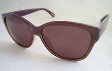 GIVENCHY SUNGLASSES SGV 815 0ACL LINED BROWN PURPLE BNWT GENUINE