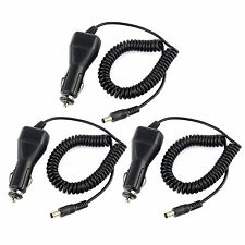 3 pcs Car Charger Cable for Retevis RT-5R BAOFENG UV5RA UV5RB UV5RE/TYT TH-F8