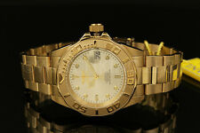 NEWInvicta Pro Diver NH35 Automatic 24 Jewels 18K Gold Plated S.S Bracelet Watch
