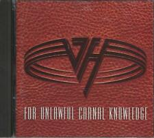 Music CD Van Halen For Unlawful Carnal Knowledge