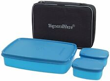Signoraware Compact Lunch box with Bag (515) - Best for office & school persons