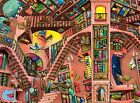 NEW! Ravensburger The Ludicrous Library by Colin Thompson 500 piece jigsaw