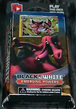 Power Play Theme Deck Black & White Emerging Powers Pokemon Trading Cards NEW