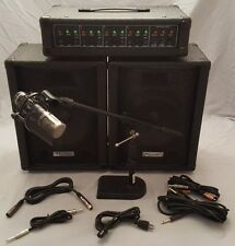 Hollinger PA 12O PA System Plus Sterling Audio ST55 Mic and Stand ~ Like NEW!!!
