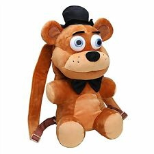 "Five Nights at Freddy's 18"" Brown Fazbear Plush Backpack-FNF 18"" Backpack-New!"