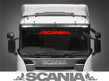 Scania Truck external sticker solid letters style with angel girl & devil girl