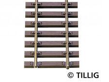 Tillig 85125 Elite 10x Holzschwellenflexgleis 890mm H0 1:87 Neu