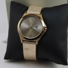 NEW AUTHENTIC DKNY PARSONS BROWN GOLD BRONZE LADIES WOMEN'S NY2372 WATCH