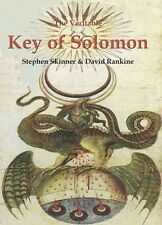 The Veritable Key of Solomon by David Rankine Hardcover Book (English)