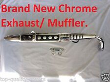 Honda CL70 CL 70 SS50 CL50 Brand New Chrome Exhaust Muffler