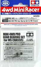 Mini4wd Gear Bearing Set (for MS chassis) Item 15347 Tamiya