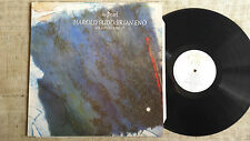 Harold Budd / Brian Eno With Daniel Lanois ‎– The Pearl - - LP Editions EG