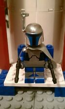 Lego Star Wars Custom Jango Fett Mercenary  with Authentic Blasters.
