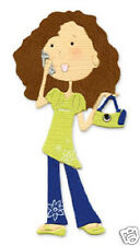 Sizzix  Sizzlits CHLOE WITH CELL PHONE & PURSE 654434