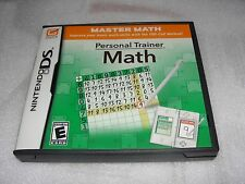 Nintendo DS   Personal Trainer: Math