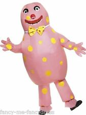 Mens Blow Up Mr Blobby Funny 1990s Stag Do Halloween Fancy Dress Costume Outfit