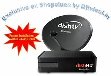 Dish TV HD+ Conenction with Recorder- (Multi Connection)