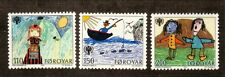 Faroe Islands--#45-47 MNH--International Year of the Child--1979