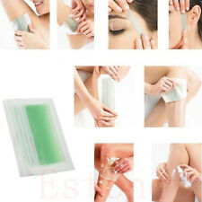 10Sides Leg Body Hair Removal  Depilatory Wax Strips Papers Waxing Nonwoven