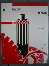 Original Vintage 1992 Eaton fuller Master Parts Catalog 99-pages