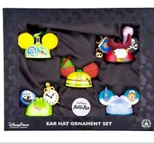 Disney Parks Peter Pan Set of 5 Ear Hat Ornaments - NEW in Box