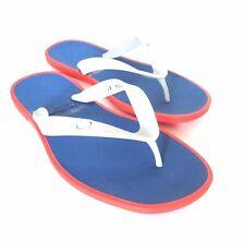 S-1060968 New Salvatore Ferragamo Gym Silver Rubber Sandal Shoes Size US-8